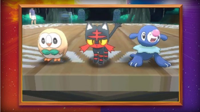 Pokemon Sun and Moon Final Starter Evolutions Revealed