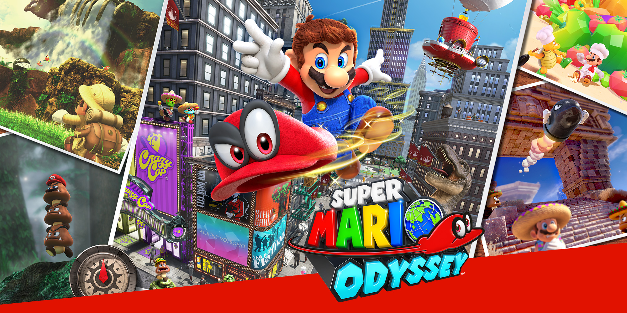 Ranking The Kingdoms In Super Mario Odyssey Vgculturehq