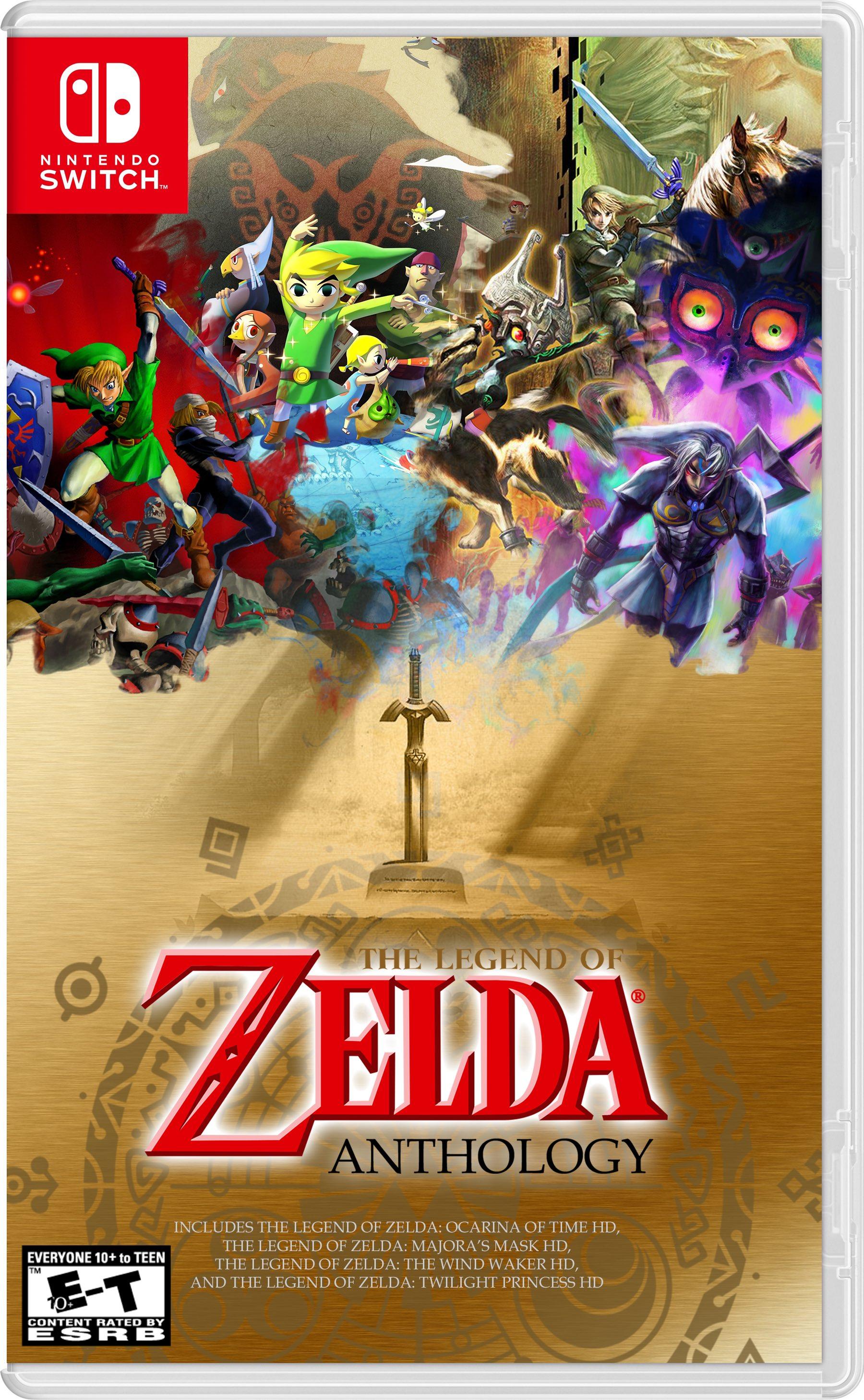 Zelda HD Collection Box Art