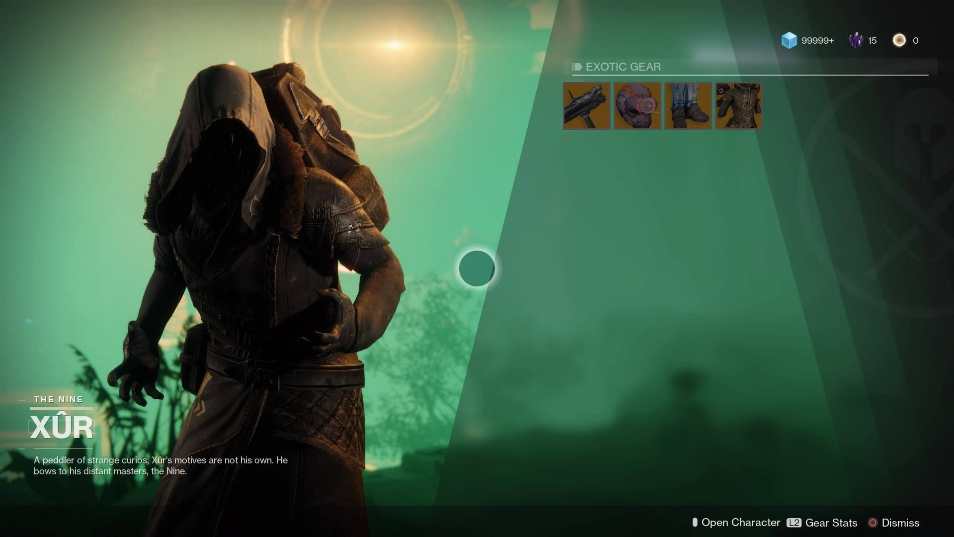 Xur's Location for 10-13