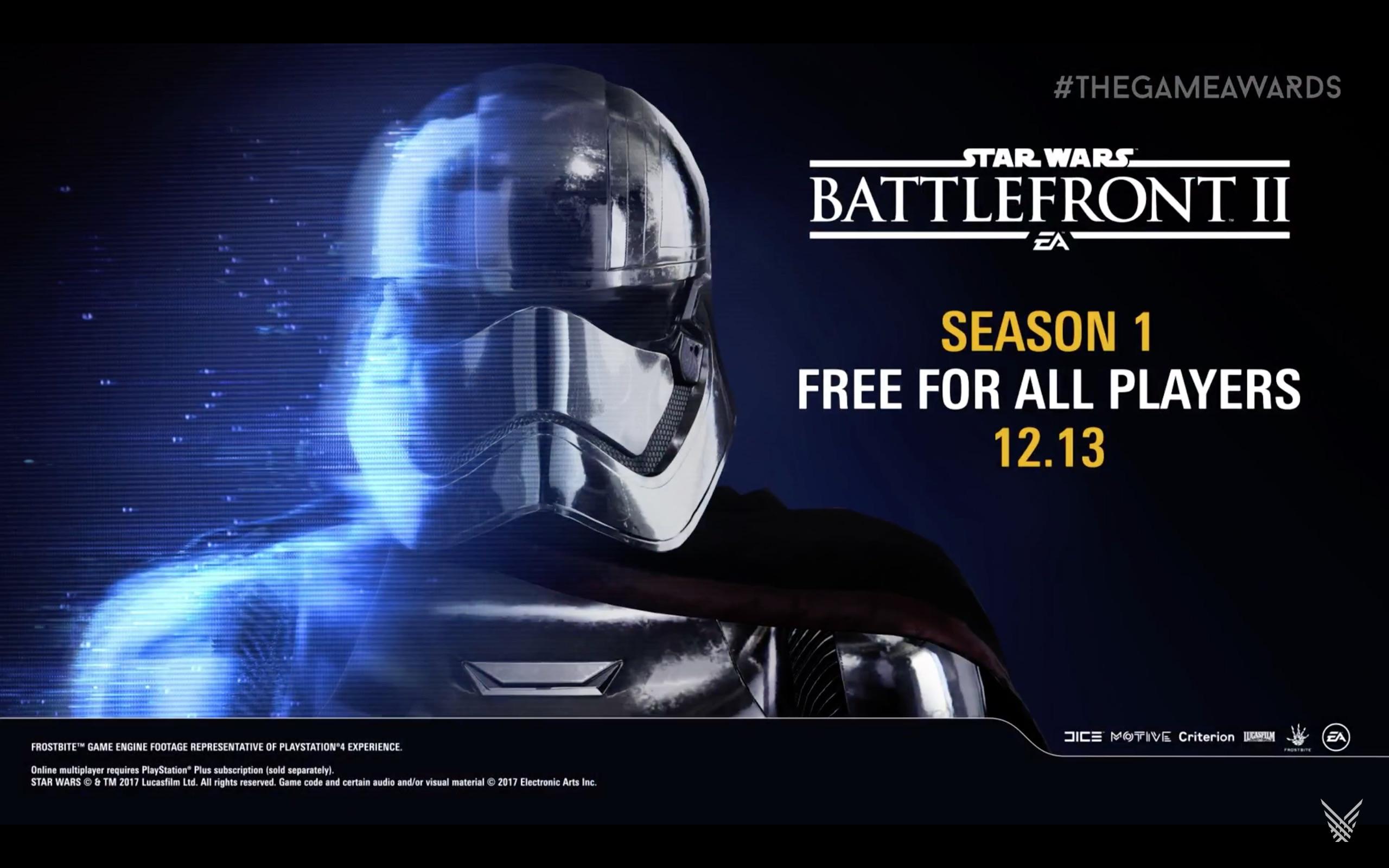 Battlefront II Season 1 Revealed