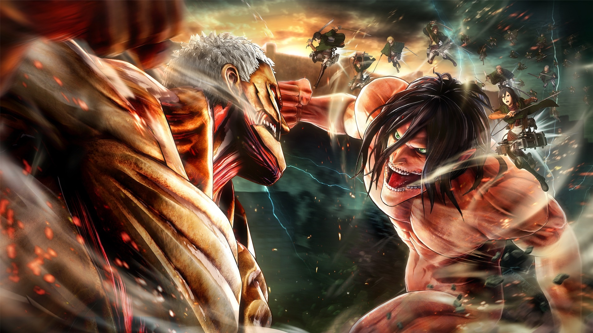 Attack on Titan 2 Opens Strong on Japanese Sales Charts