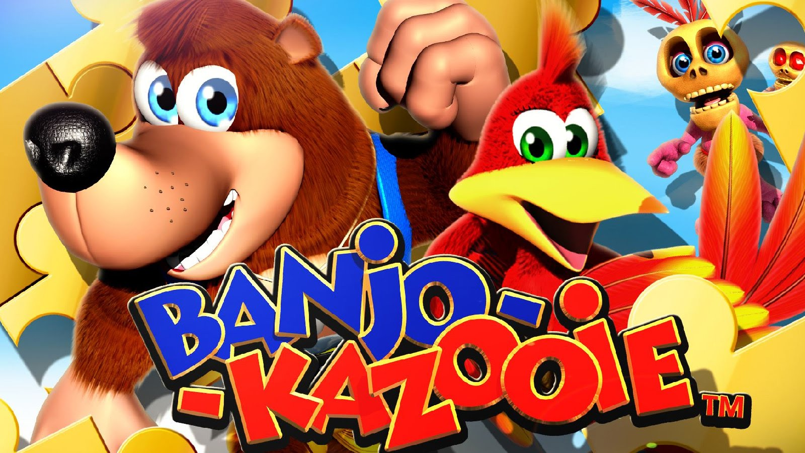 Banjo Kazooie in Super Smash Bros