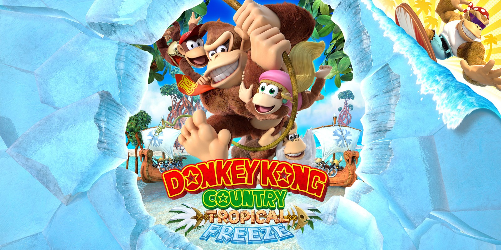 Donkey Kong Tropical Freeze Disappears from Wii U eShop