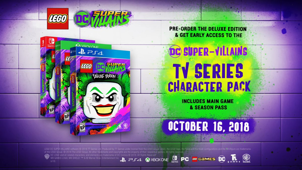 Lego DC Super Villains Announced