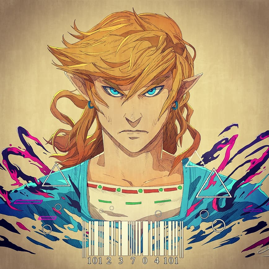 JaniceScottART's Beautiful Breath of the Wild Fanart