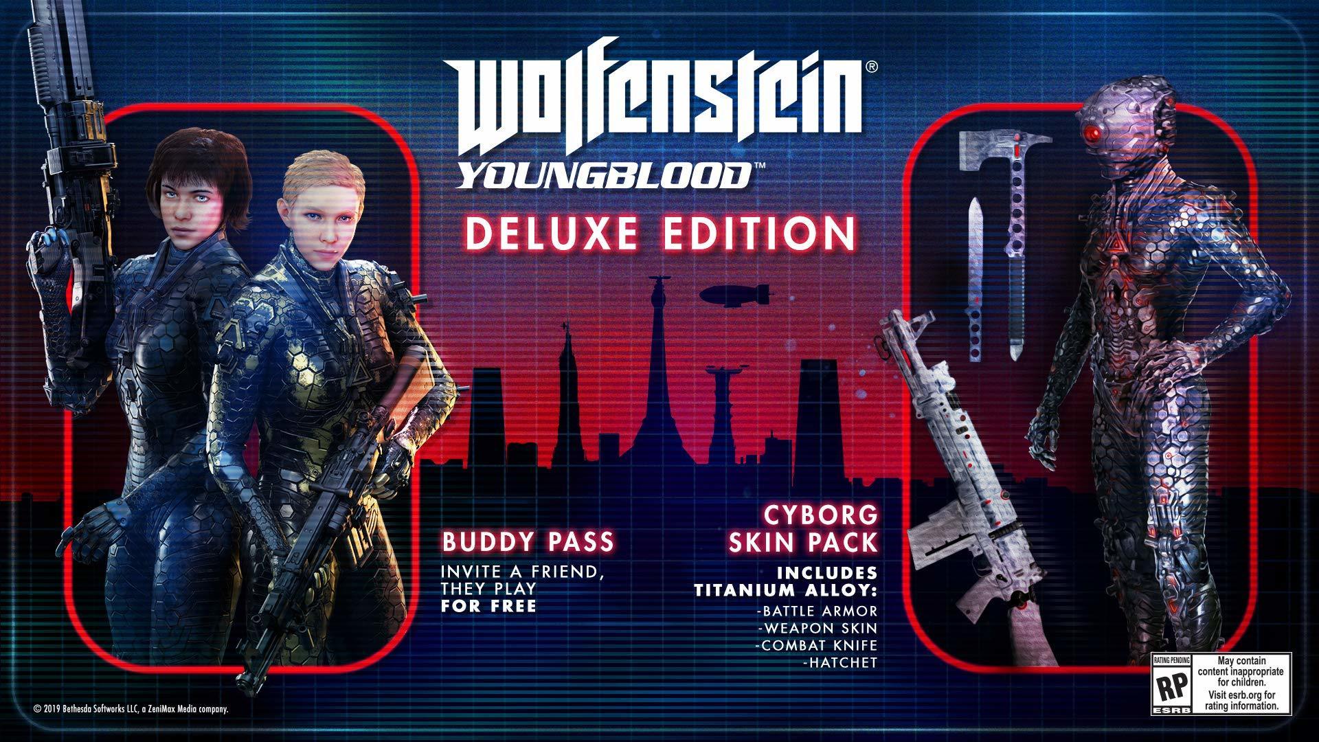 Wolfenstein Young Blood Nintendo Switch