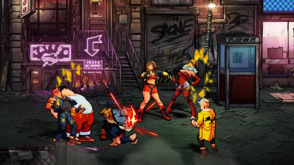 Streets of Rage 4 Physical