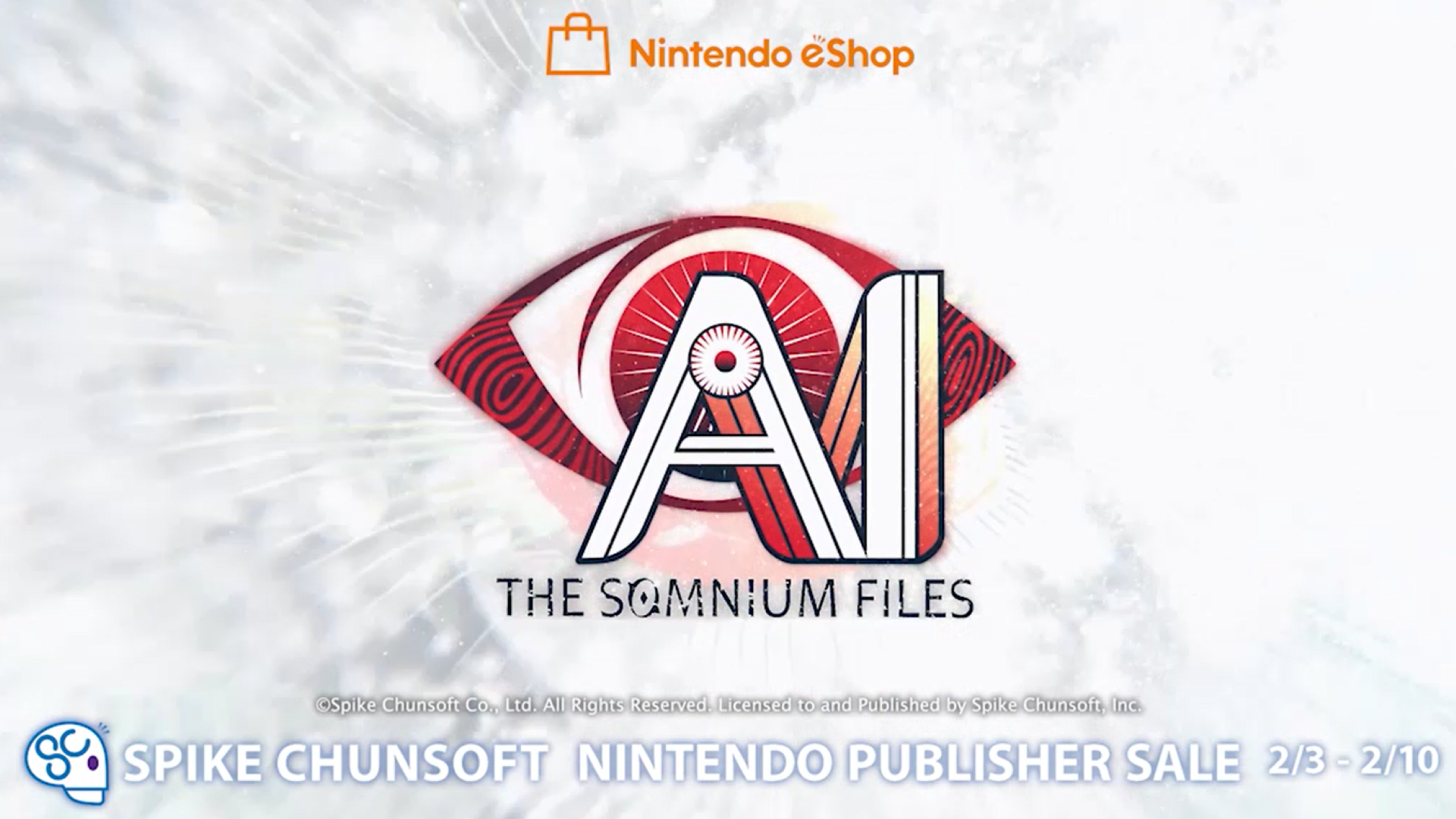 Spike Chunsoft Having Nintendo eShop Sale
