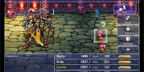 Remaking Final Fantasy V