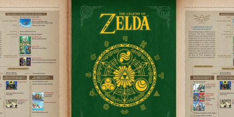 Hyrule Historia Receiving Digital Release in April