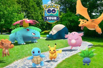 pokemon go tour: Kanto